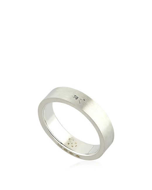 Le Gramme | Серебристый Le 7 Brushed Sterling Ring