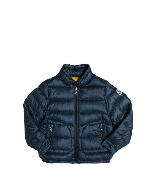 Moncler | Dark Denim Acorus Imprime Printed Nylon Down Jacket