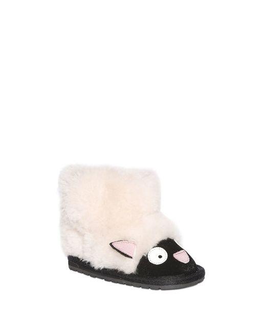 EMU Australia | Белый Sheep Face Wool Suede Boots