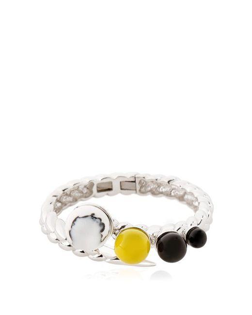 Eshvi | Серебристый Braid Bracelet