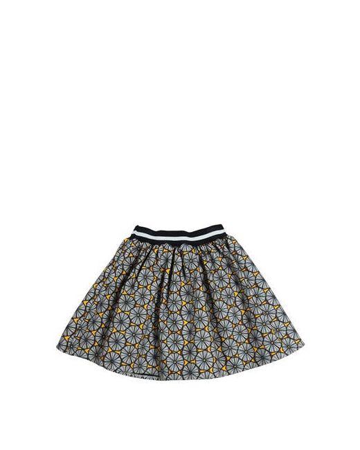 Stella Jean | Серый Printed Doubled Cotton Round Skirt