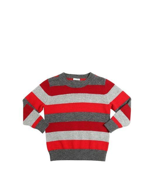 Il Gufo | Серый Striped Merino Wool Sweater