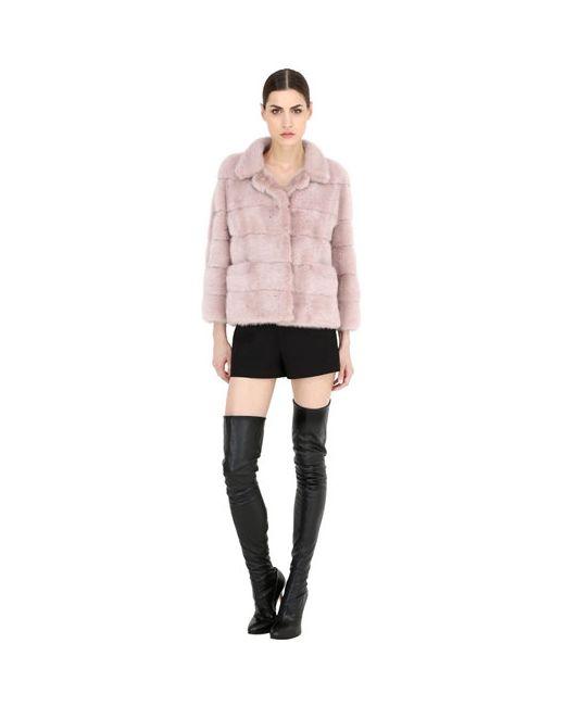 Simonetta Ravizza | Розовый Mink Fur Jacket