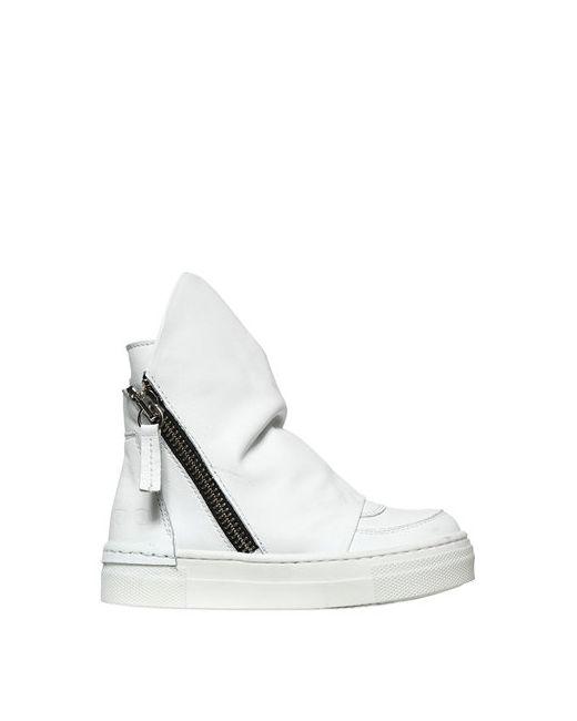 ARAIA KIDS | Белый Leather High Top Sneakers