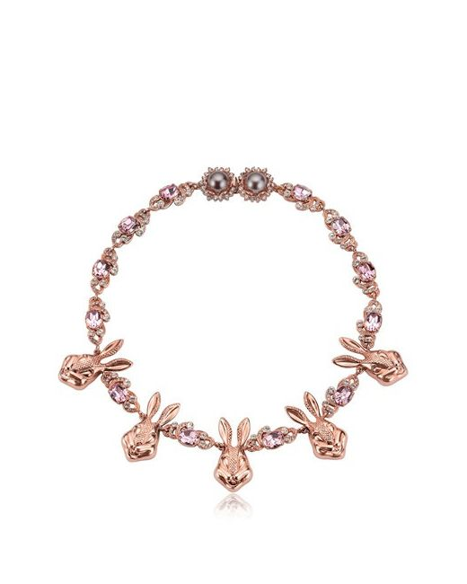 Mawi | Розовый Bunny Love Necklace