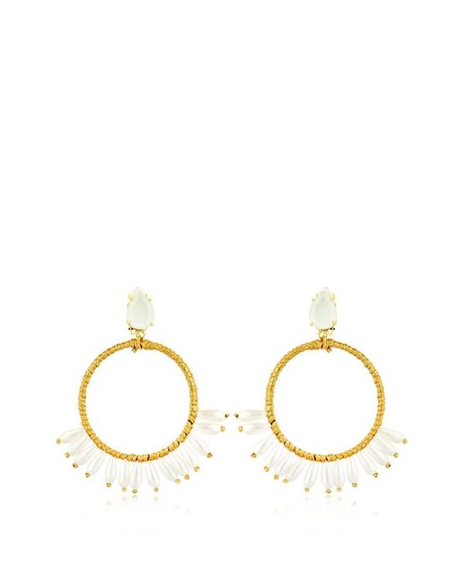 VANINA | Золотой Anjar Hoop Earrings