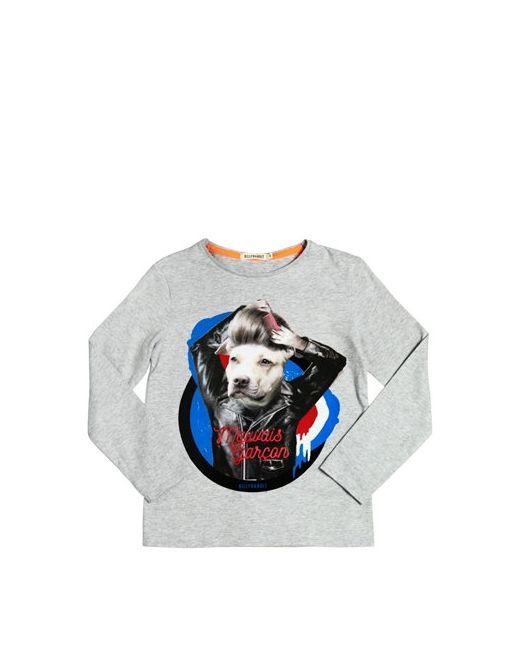 BILLYBANDIT | Серый Dog Printed Cotton Jersey T-Shirt