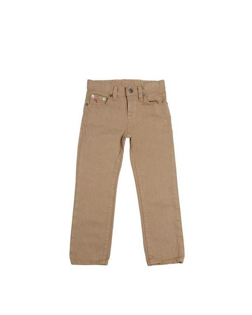 RALPH LAUREN CHILDRENSWEAR   Natural 5 Pockets Slim Fit Jeans