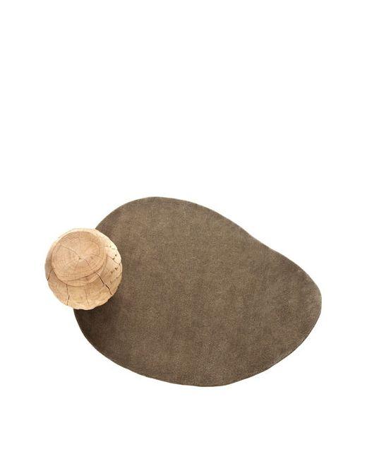NANIMARQUINA   Серый Stone 1 Wool Rug