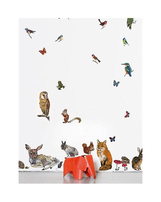 DOMESTIC   Многоцветный Animal Wall Stickers