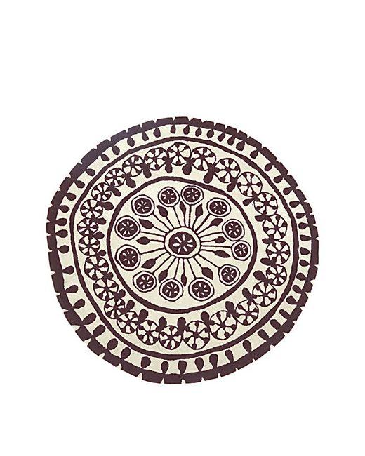NANIMARQUINA | Чёрный Rangoli 1 Wool Rug