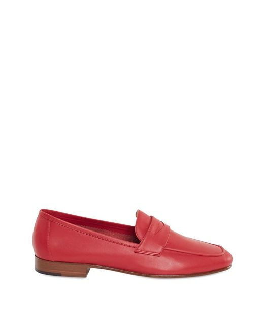 MANSUR GAVRIEL | Красный 10mm Leather Penny Loafers