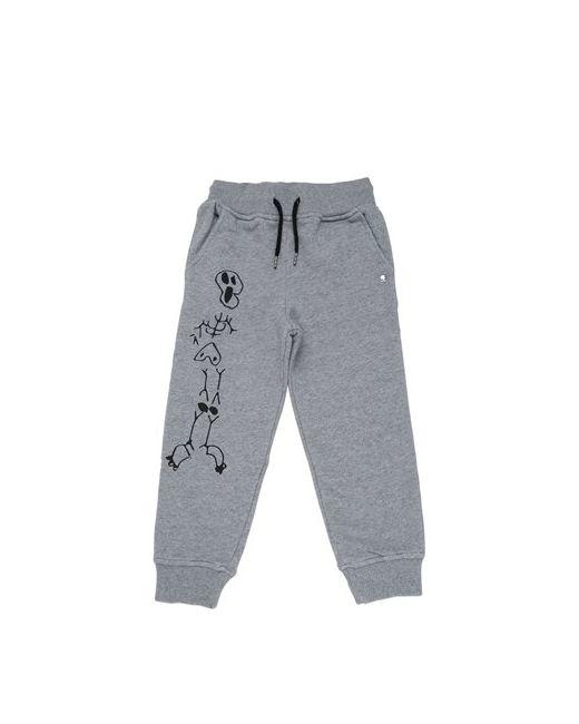 HYDROGEN KID | Серый Skeleton Printed Cotton Jogging Pants