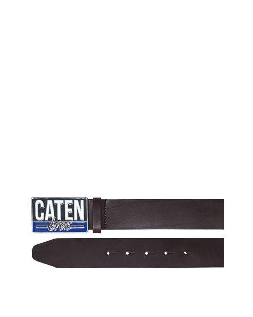 Dsquared2   Коричневый Caten Buckle Leather Belt