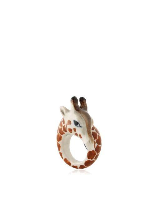 NACH | Коричневый Giraffe Ring