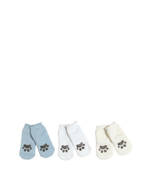 Dolce & Gabbana | Белый Set Of 3 Anti-Slip Cat Paw Cotton