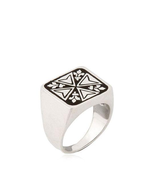 MANUEL BOZZI | Чёрный Malta Ring