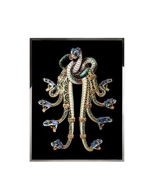 Vision Air   Multi Hydra Swarovski Embellished Print