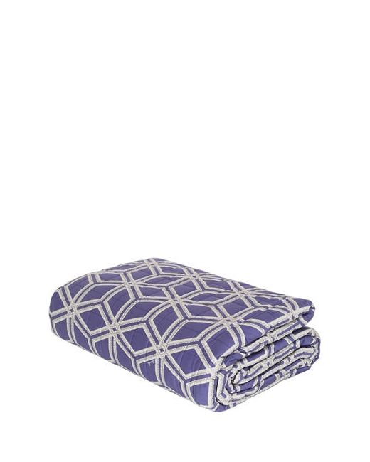 ZUCCHI COLLECTION | Синий Esagon Quilted Brushed Cotton Bedspread