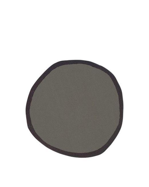 NANIMARQUINA | Чёрный Aros 2 Round Wool Rug