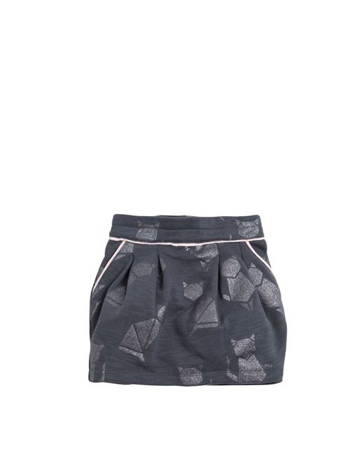 Little Marc Jacobs | Серый Burnout Cotton Mini Skirt