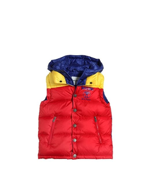 Moschino | Многоцветный Color Blocked Hooded Down Vest