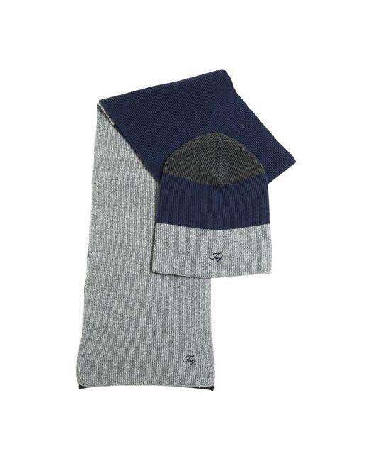 Fay | Серый Wool Cashmere Blend Hat Scarf