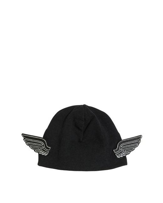 YPORQUÉ | Чёрный Doubled Cotton Jersey Hat W/ Wings
