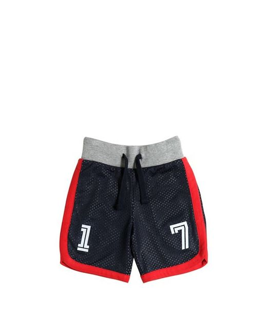 HYDROGEN KID   Navy Mesh Cotton Jersey Jogging Shorts