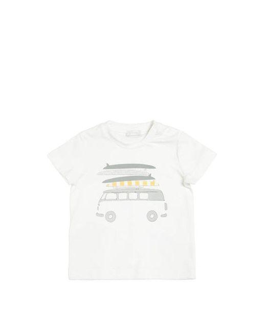 Il Gufo | Белый Van Surf Printed Cotton Jersey T-Shirt