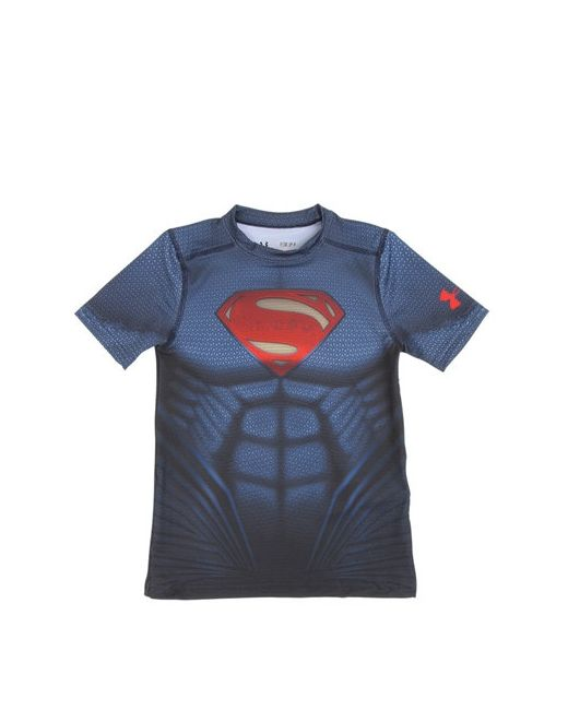 Under Armour   Красный Alter Ego Superman T-Shirt