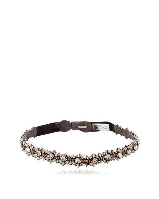 Deepa Gurnani | Золотой Oblivion Crystal Belt