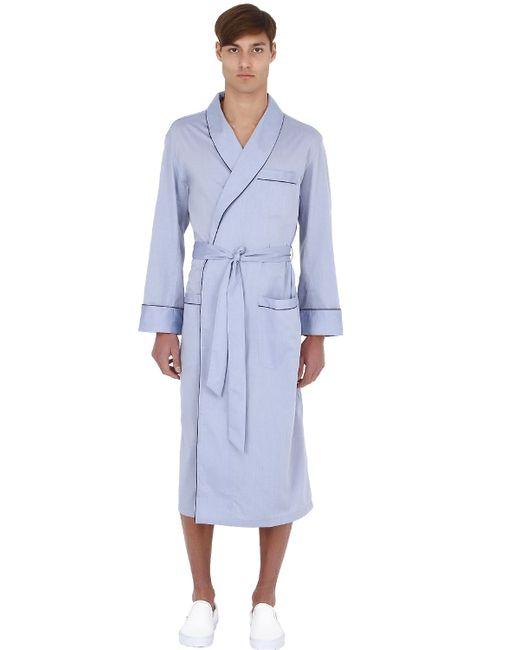 Brooks Brothers | Синий Pure Cotton Robe