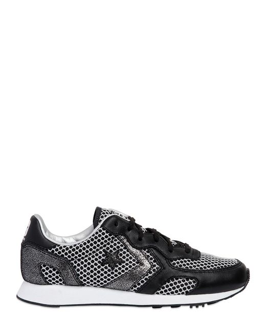 Converse | Чёрный Auckland Racer Mesh Leather Sneakers