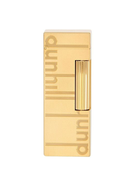 Dunhill   Золотой Signature Rollagas Lighter