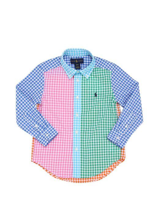 RALPH LAUREN CHILDRENSWEAR | Многоцветный Cotton Oxford Button Down Shirt