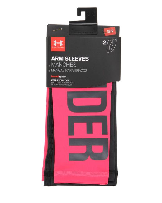 Under Armour | Розовый Compression Arm Sleeves