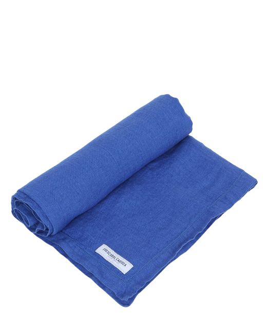 FRESCOBOL CARIOCA | Мужское Синий Linen Beach Towel