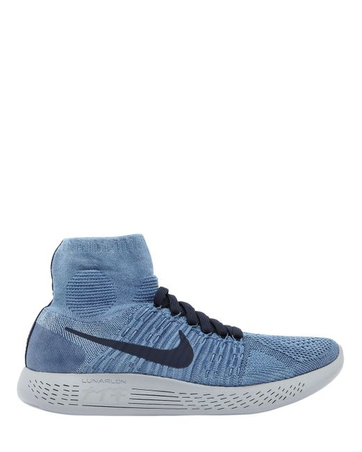 Nike | Мужские Голубы Кроссовки Nikelab Lunarepic Из Flyknit