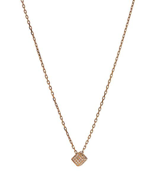 Noor Fares   Женское Золотой Cube Diamond Yellownecklace
