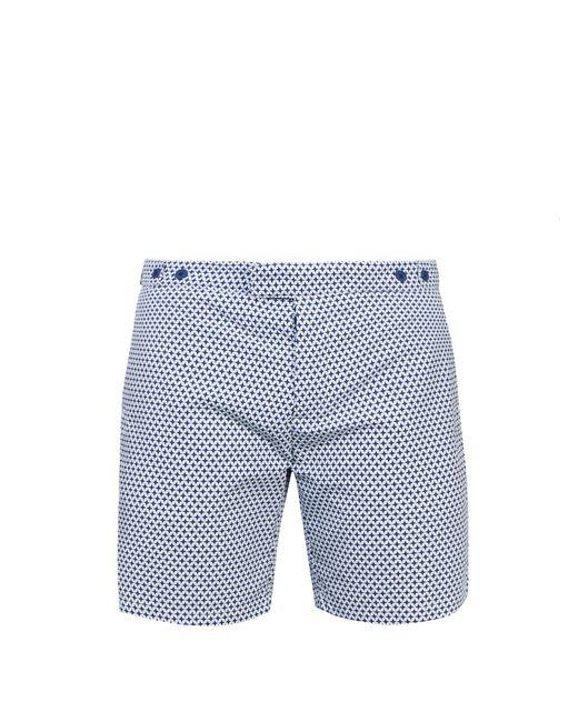FRESCOBOL CARIOCA | Мужское Красный Tailored Arpaodor-Print Swim Shorts