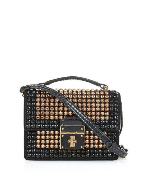Dolce & Gabbana | Женское Золотой Rosalia Swarovski-Embellished Cross-Body Bag