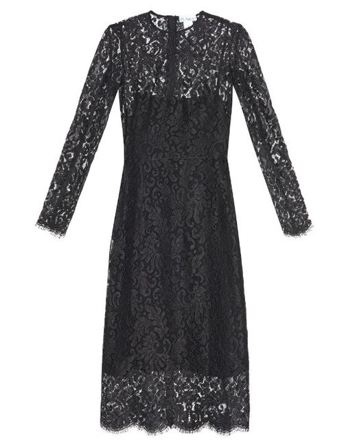 RAEY | Женское Чёрный Long-Sleeved Lace Dress