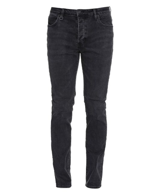 NEUW DENIM   Мужское Серый Lou Slim-Leg Jeans