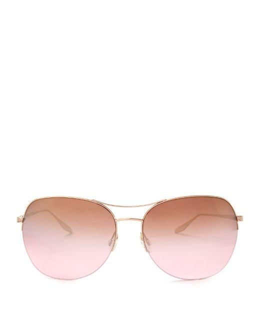 BARTON PERREIRA | Женское Золотой Quimby Aviator Sunglasses
