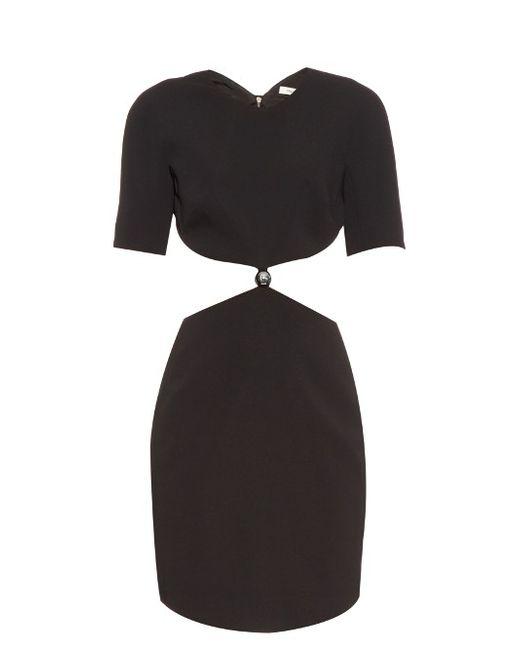 Mugler | Женское Чёрный Cut-Out Cady Dress