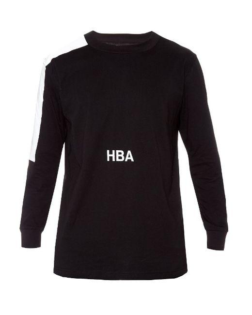 HOOD BY AIR | Мужское Чёрный Nihilism Jersey Sweatshirt