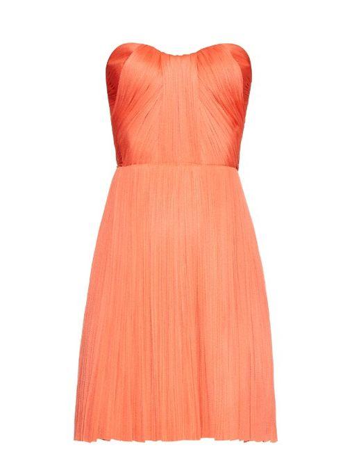 Maria Lucia Hohan   Женское Красный Sicilia Silk-Tulle Dress