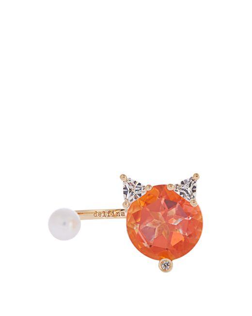 Delfina Delettrez | Женское Золотой Topaz Diamond Pearl Yellow-Gold Ring