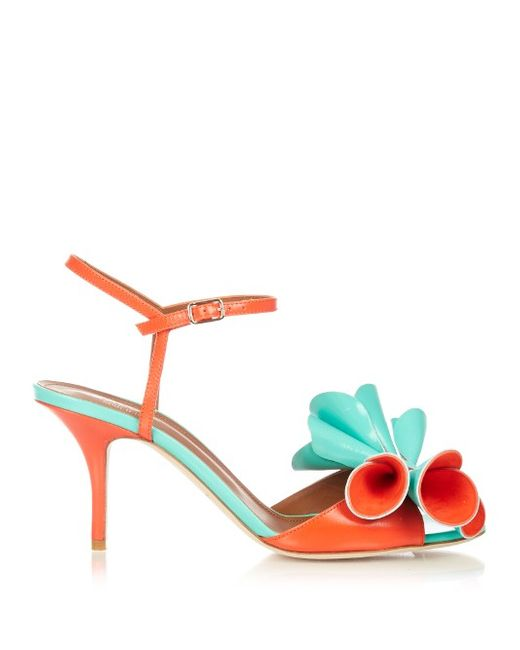 MALONE SOULIERS | Женское Multi Thelma Bi-Colour Leather Sandals